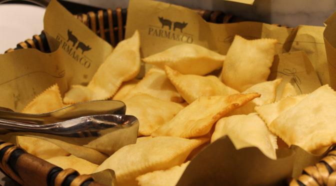 Gnocco fritto ed erbazzone: il cibo da parco!