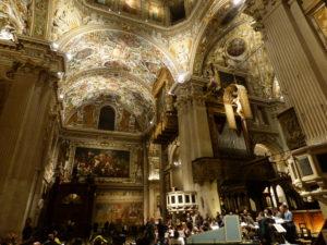 Interno della Basilica di Santa Maria Maggiore
