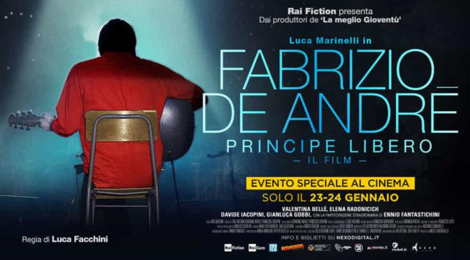 [FILM]Fabrizio De Andre – Principe libero: una recensione molto personale