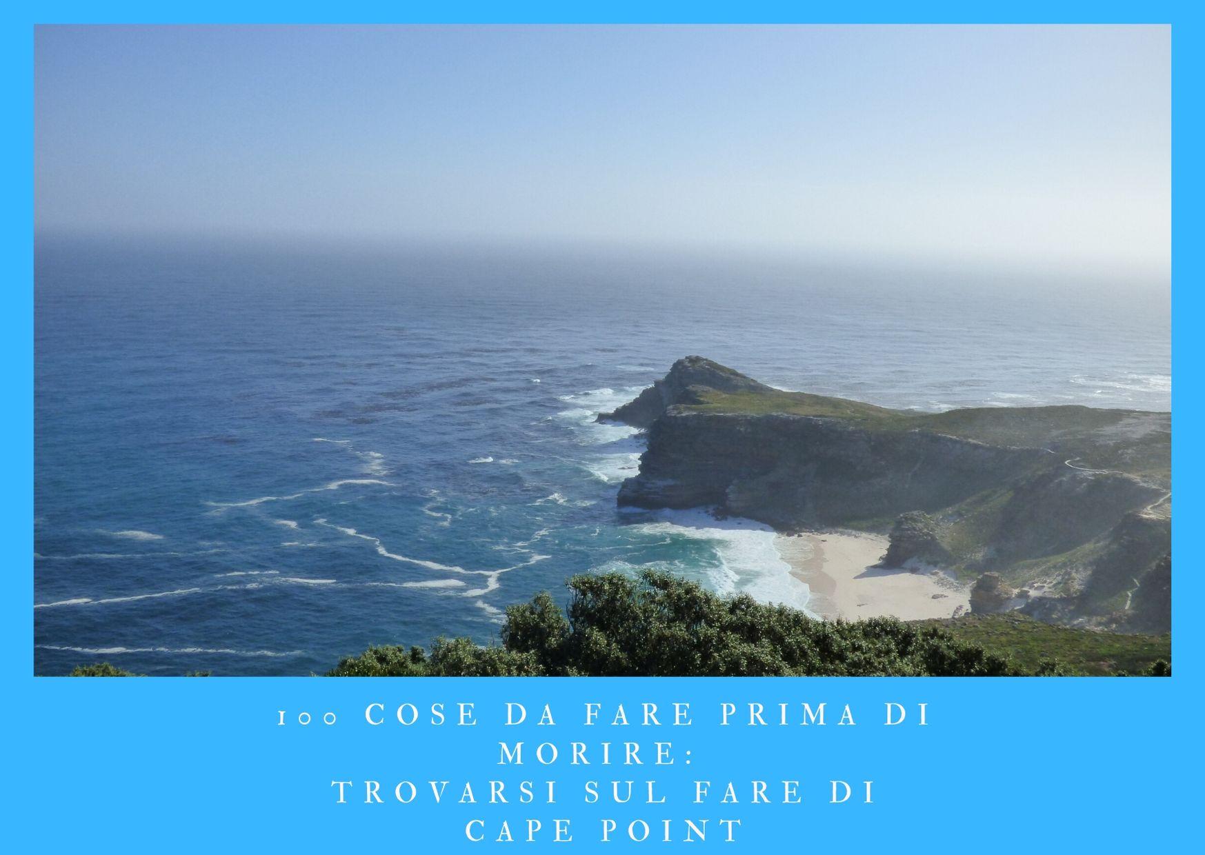 100 cose da fare prima di morire - trovarsi sul faro di Cape Point