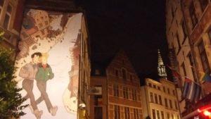 Murales simbolo del quartiere gay