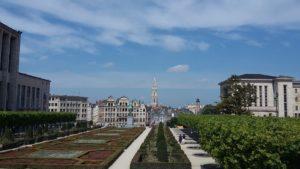 Bruxelles a piedi - Mont des Arts.