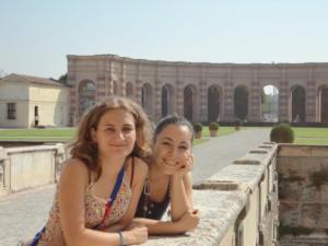 Le cugine diverse in viaggio a Mantova