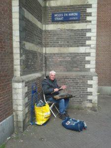 Amsterdam - musicisti - di - strada