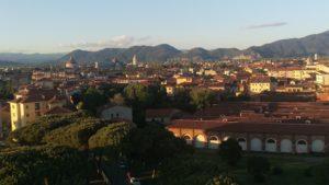 Piazza dei Miracoli vista dalla Cittadella