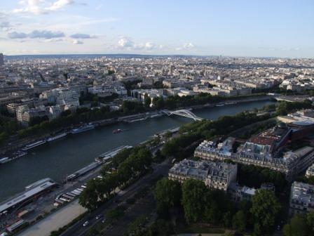 Parigi vista dalla Torre eiffel
