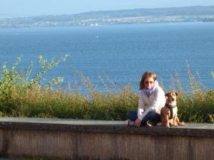 Io e Biagio sul Lago di Costanza