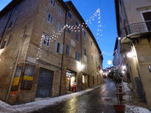 Via Raffaello Urbino con il cane