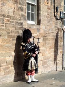 Edimburgo in 10 scatti - Al suono della cornamusa