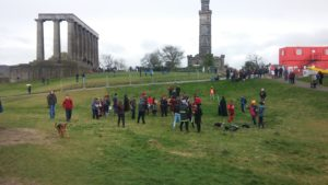 Edimburgo in 10 scatti - Calton Hill