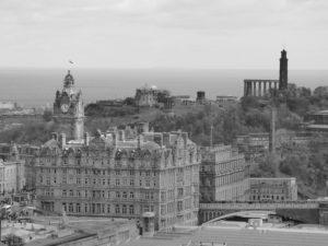 Edimburgo in 10 scatti - vista dal castello