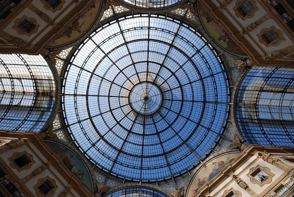 Cupola Galleria Milano