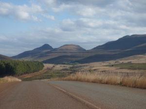 Lungo la R40 in Sudrafrica