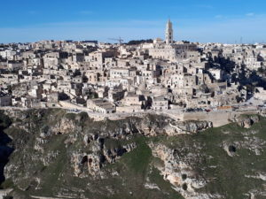On the road tra Basilicata e Puglia: Matera vista dal Belvedere