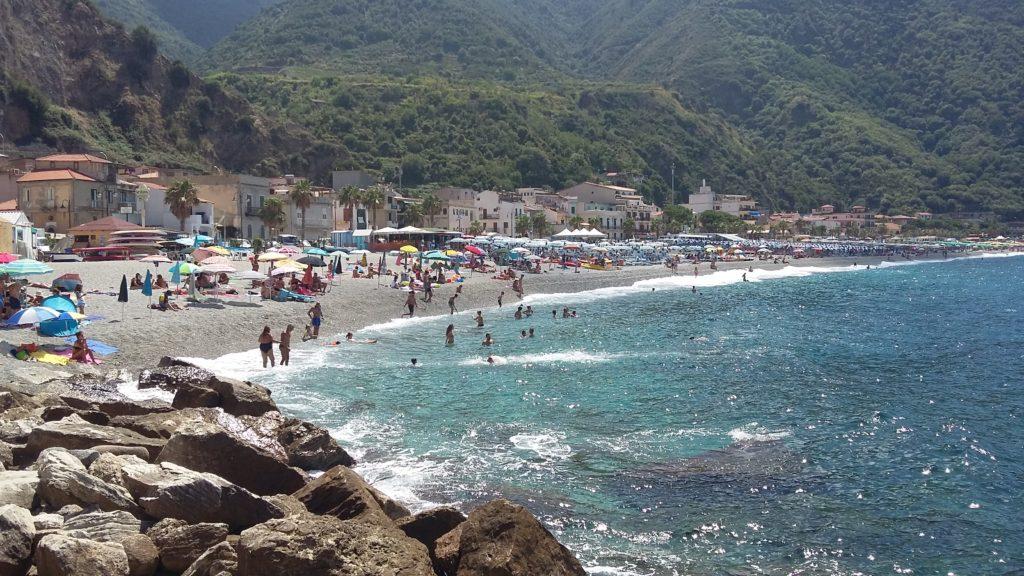 Spiaggi di Marina Grande a Scilla