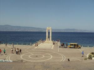 Itinerario costa tirrenica in Calabria: Lungomare Reggio Calabria