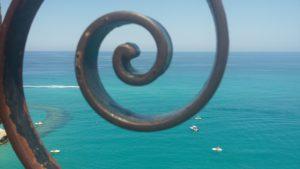 Itinerario costa tirrenica in Calabria: affaccio da Tropea