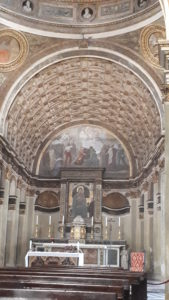 Illusione ottica abside chiesa San Satiro - milano