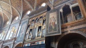 Coro delle Monache nella Chiesa di San Maurizio
