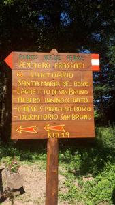 calabria con cane - Sentiero Frassati