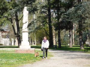 Parco del popolo - reggio emilia con il cane