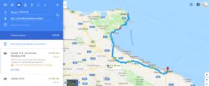 On the road tra Basilicata e Puglia: Vieste - Bari
