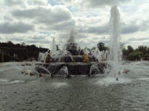Visitare Versailles - le fontane e i giochi d'acqua
