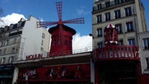 Parigi a piedi - Moulin Rouge