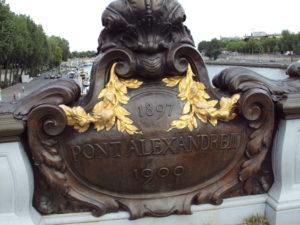 Parigi a piedi - Pont Alexandre III