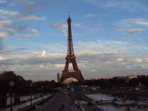 Parigi a piedi - tore eiffel vista dal Trocadero
