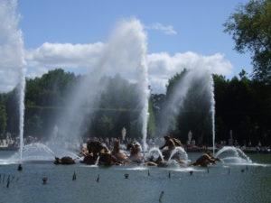 Visitare Versailles - i giardini
