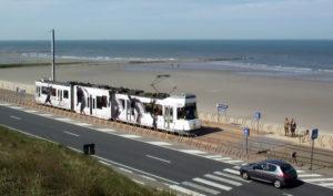 Belgio in treno: Kusttram lungo la costa nord del belgio