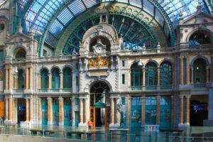 Belgio in treno: Anversa - stazione centrale