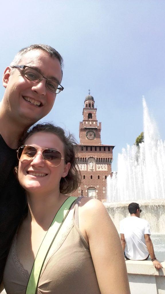 Castello Sforzesco - milano a piedi