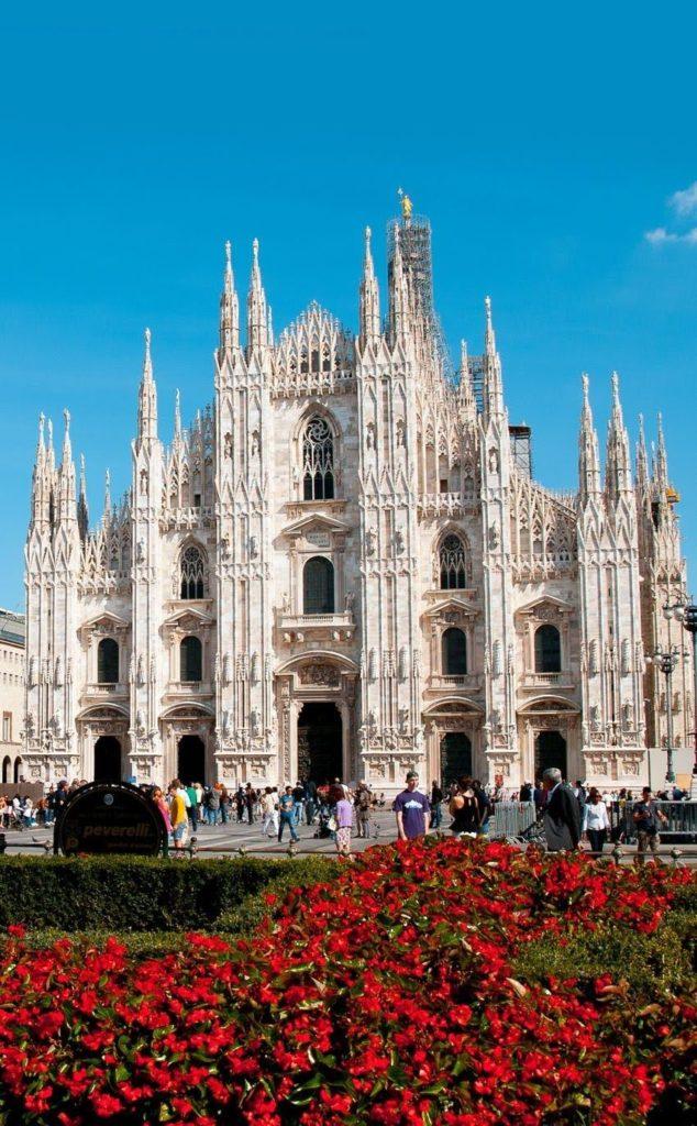 Facciata Duomo di MIlano