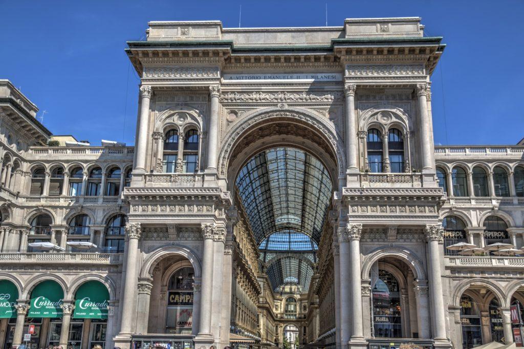 Galleria Vittorio Emanuele - Milano a piedi
