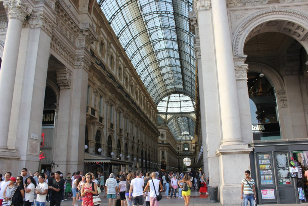 Ingresso Galleria di milano