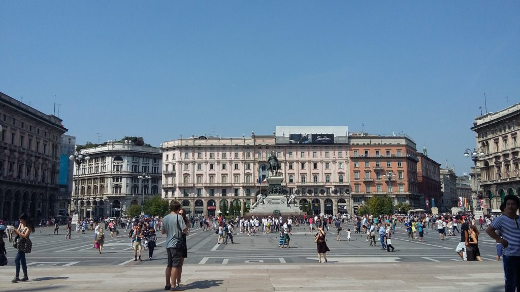 piazza duomo - itinerario a piedi