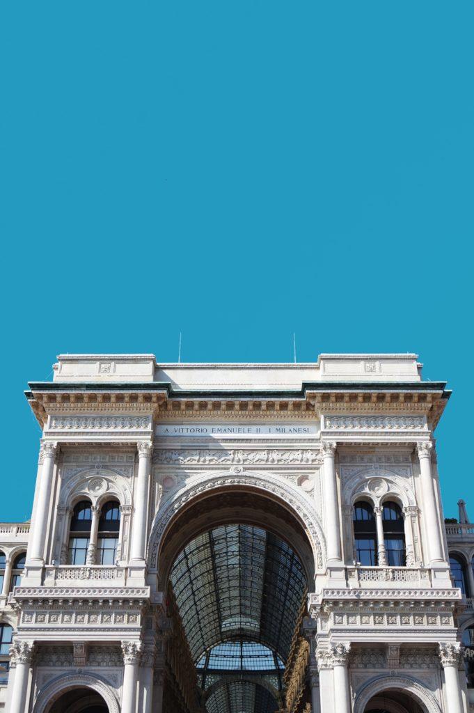 Arco di trionfo Galleria di Milano