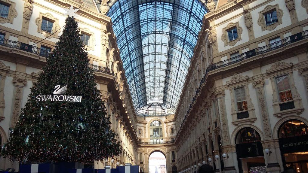 Galleria Vittorio Emanuele Milano a Natale