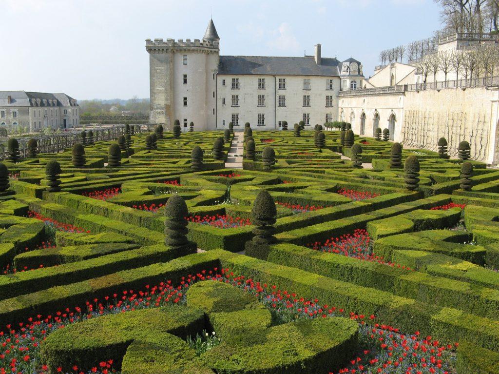 giardini castello Villandry - loira