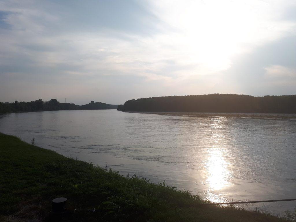 Lungo le rive del Po