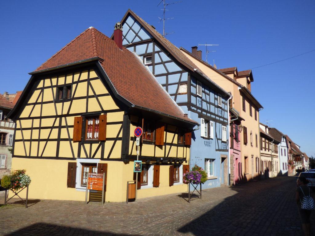 strada delle case a graticcio in germania