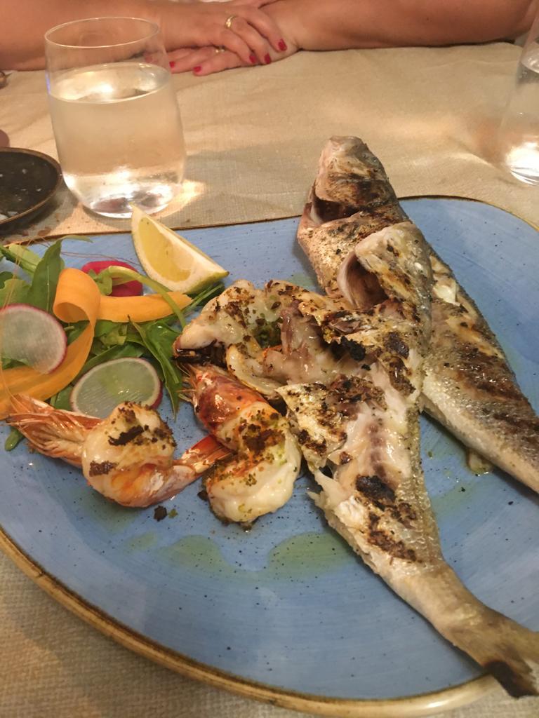 Piatto di pesce cosa mangiare a vieste